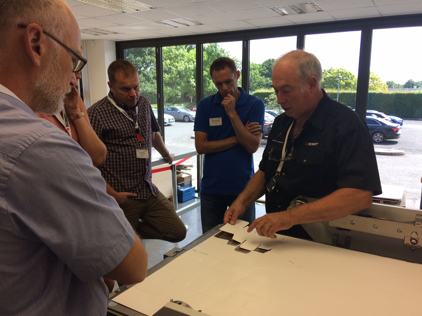 BOBST collaborates with BPIF Cartons to deliver hands-on training